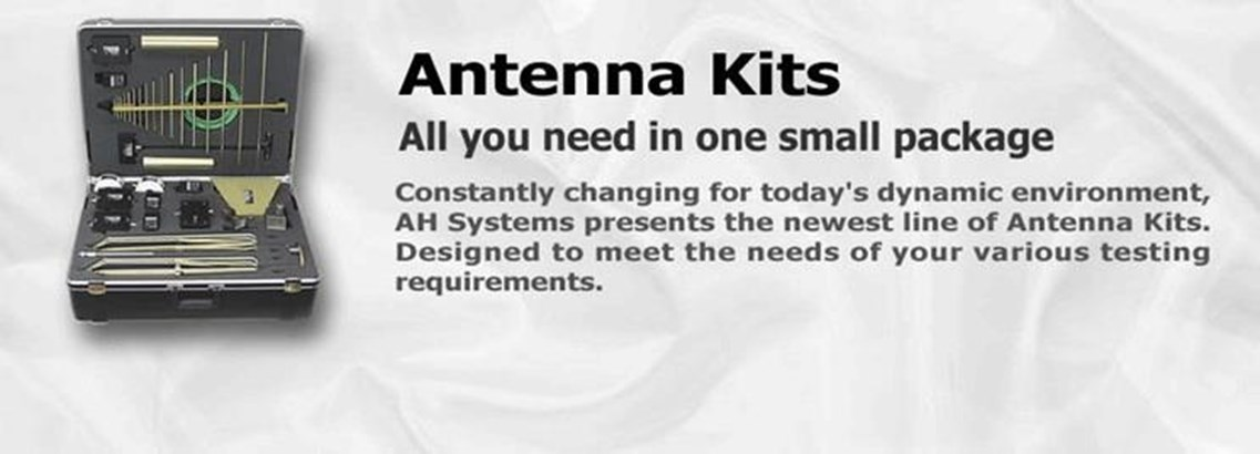 Grab And Go EMC Testing Portable Antenna Kits