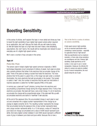 Boosting Sensitivity