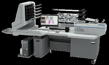 OPEX FalconV RED Digital Mailroom Document Scanning Workstation