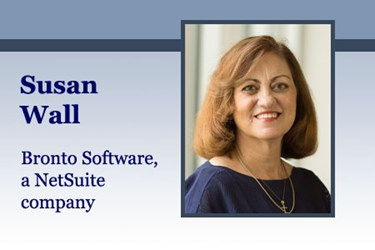 Susan Wall, Vice President of Marketing, Bronto Software, a NetSuite company