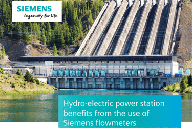Hydro-Electric Power Station Benefits From The Use Of Siemens Flowmeters