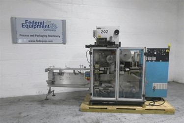 Used Uhlmann Blister Packaging Machine, Model UPS300