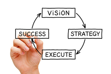 Vision strategy success execute business plan