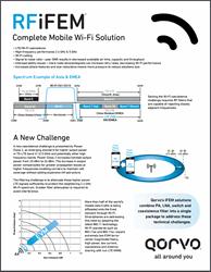 Qorvo RF iFEM Mobile Wi-Fi Solutions