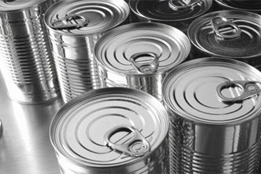 XRay Inspection Of Soup Cans