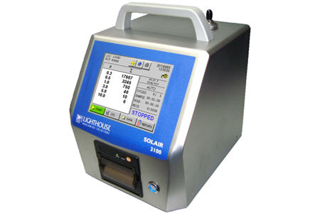 Portable Airborne Particle Counter Solair 31005100