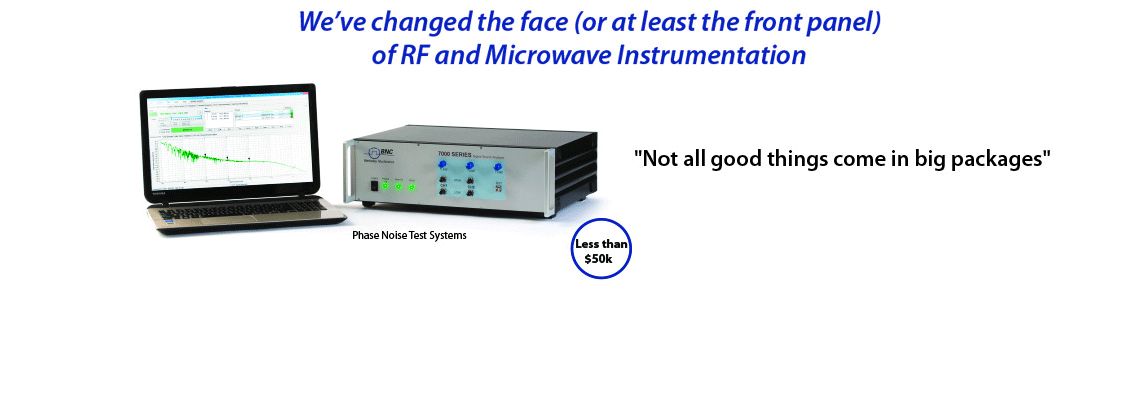 Phase Noise Test Systems For Testing Amplifiers: Model 7000 Series
