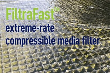 FiltraFast Extreme-Rate Compressible Media Filter