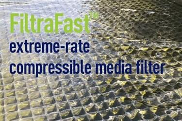 FiltraFast Extreme-Rate Compressible Media Filter