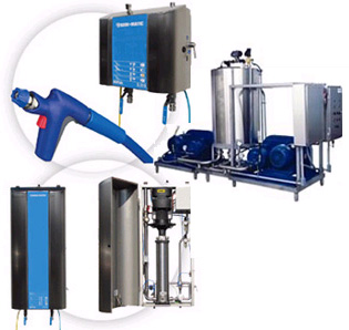 Rinse Foam Sanitize Rfs Systems Central High Pressure