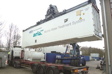 Pall Aria Mobile Water Treatment System
