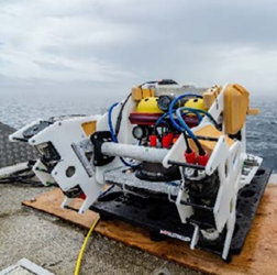 Robots, Lasers, And Artificial Intelligence Join Forces Undersea