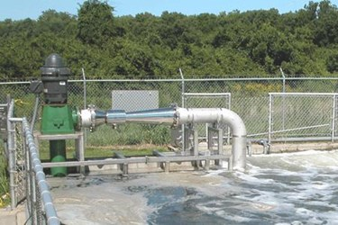 Post-treatment Aeration Maintains Dissolved Oxygen in Effluent High-Solids Wastewater Prior to River Discharge_PIX