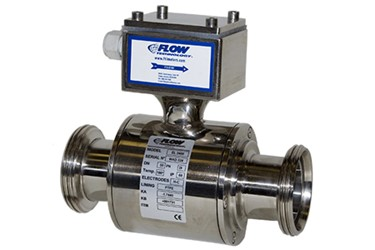 Electromagnetic flow meter for sanitary applications from Flow Technology