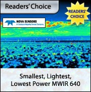 Smallest, Lightest, Lowest Power MWIR 640