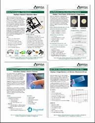 Abrisa Technologies Publishes Four New Product Brochures