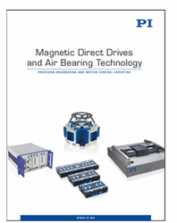 Catalog Of Nanometer-Precision Motion Systems With Magnetic Direct Drives And Air Bearings