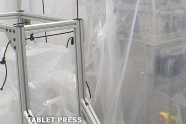 Tablet Press Containment Systems