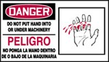 Accident Prevention-Bilingual Safety Sign
