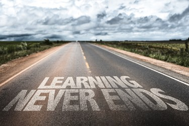 learning-never-ends-road