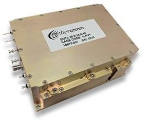 High Power Gallium Nitride (GaN) Amplifier: SSPA 20.0-24.0-40