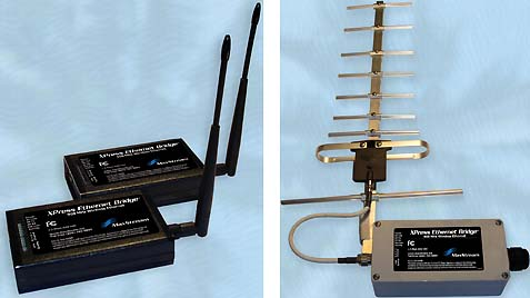 Maxstream Releases 900 Mhz Long Range Wireless Ethernet Bridge