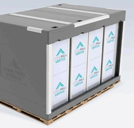 single-use temperature-controlled bulk shipping