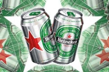 Heineken New Can Design