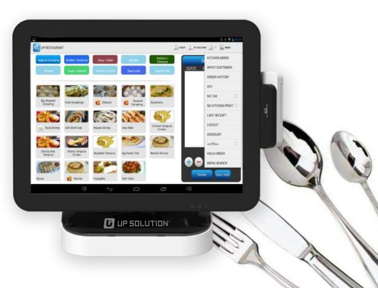 Up Tab Restaurant Cloud Based Android Pos Solution