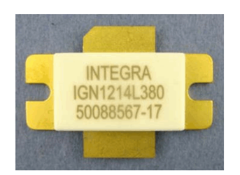GaN/SiC Long-Pulse L-Band Transistor: IGN1214L380