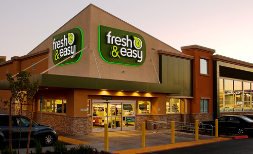 Tesco has finally found a buyer for fresh easy for Convenience store exterior design