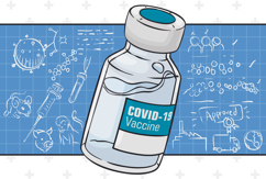 COVID 19 Vaccine Vial