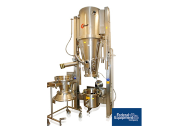 Used Glatt GPCG 15 Fluid Bed Dryer Granulator