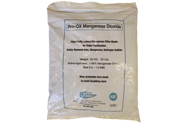 Pro-OX Manganese Dioxide Iron & Manganese Filter Media