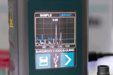 Handheld-Spectrometer