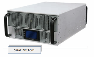 1 – 30 MHz Solid State Broadband High Power Amplifier: SKU 2203