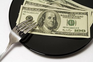 Money Plate Fork