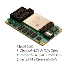 The Quartz Family: Xilinx Zynq UltraScale+ RFSoC
