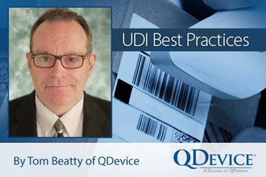 UDI Best Practices - Tom Beatty, QDevice