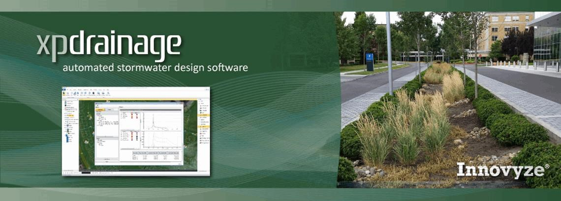 <B>XPDRAINAGE:</b> Automate The Sizing Of Traditional Stormwater Systems And BMP Facilities