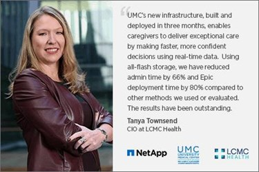 Tanya L. Townsend, MSMI, CHCIO , Senior Vice President & Chief Information Officer, LCMC Health