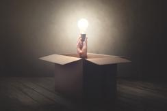 Light Bulb In Box