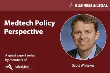 Medtech Policy Perspectives - Scott Whitaker