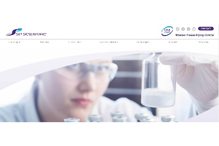 SP Scientific Launches Microsite Dedicated To Freeze Drying