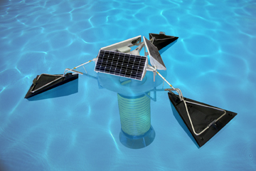 SolarBee® v18 Solar-Powered, Long-Distance Water Circulator