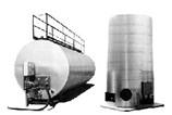 Heated Tack Oil Storage Tanks