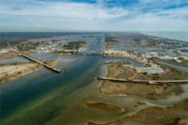 Made By AMERICAN: Strong-As-Steel Support For New Topsail Island Bridge
