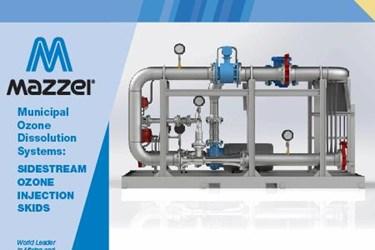 Municipal Ozone Dissolution Systems: Sidestream Ozone Injection Skids