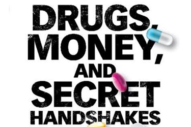 drugs money secret handshakes