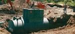 Below Ground Steel Cylindrical Oil Water Separators